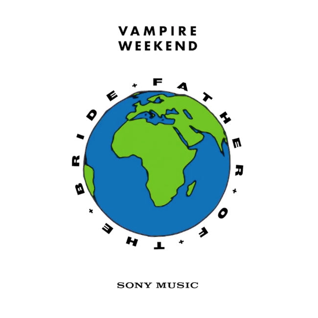 Vampire Weekend ‎– Father Of The Bride Orange Colour 2LP Vinyl Record Album