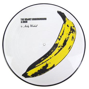 The Velvet Underground & Nico Picture Disc Vinyl Record Album