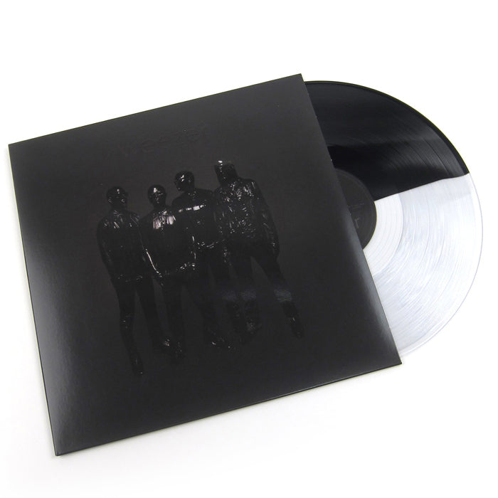Weezer ‎– Weezer (Black Album) Black/Clear Split Colour Vinyl Record Album
