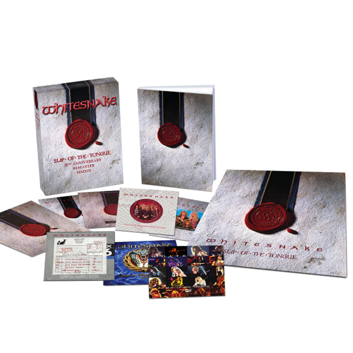 Whitesnake - Slip Of The Tongue (30th Anniversary Edition) Super Deluxe Boxset, CD, X-Records