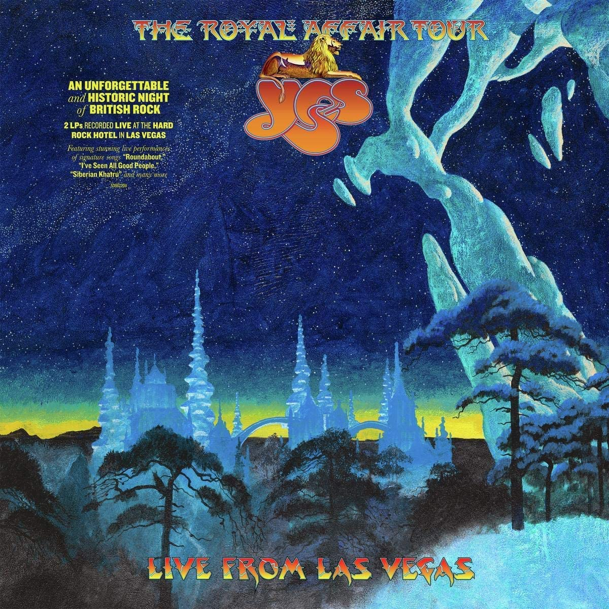 Yes - The Royal Affair Tour (Live in Las Vegas) 2LP 180g Vinyl Record