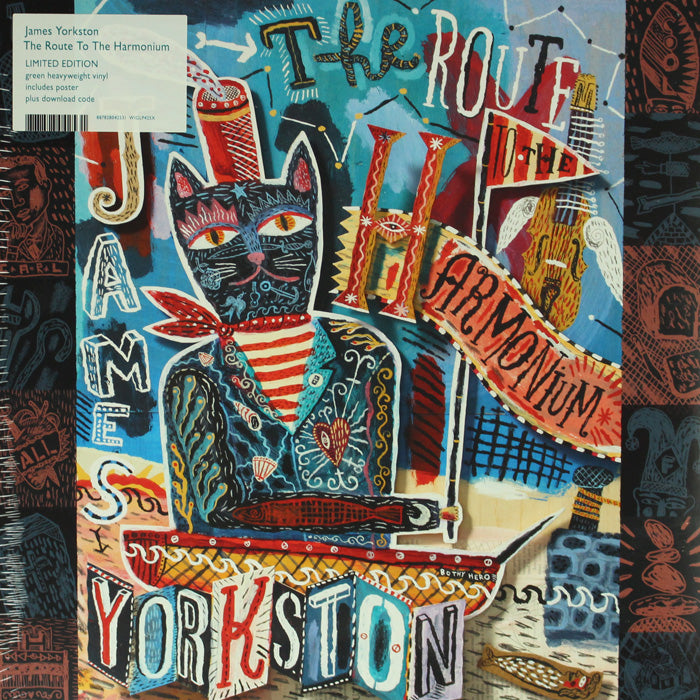 James Yorkston ‎– The Route To The Harmonium Colour Vinyl 180g Vinyl Record