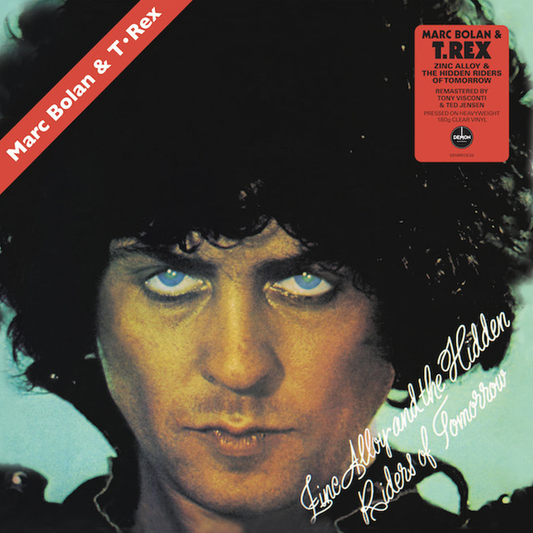T.Rex - Zinc Alloy and the Hidden Riders of Tomorrow 180g Clear Colour Vinyl Record Album