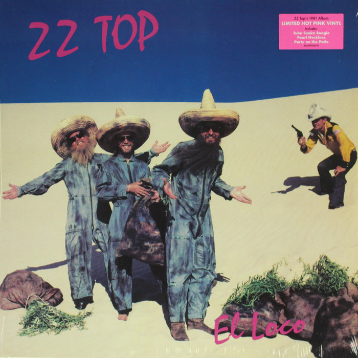 ZZ Top ‎– El Loco Limited Edition Colour Vinyl Record