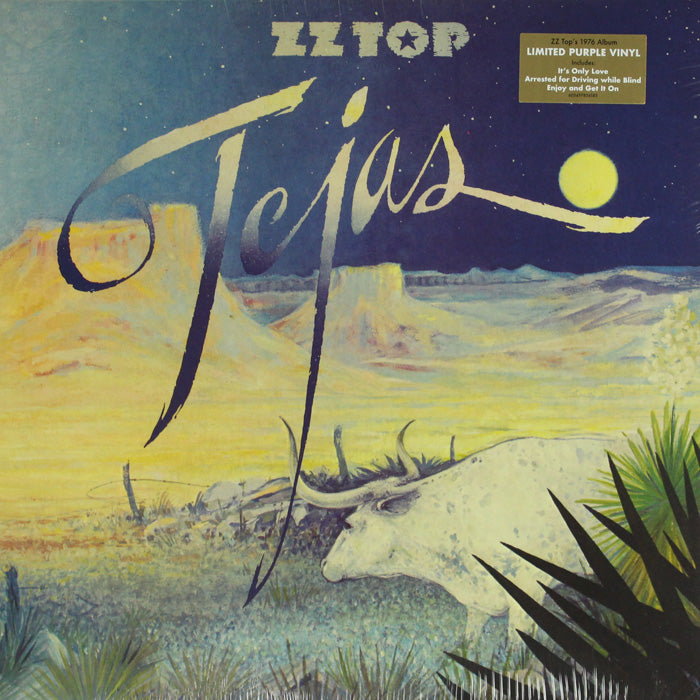 ZZ Top ‎– Tejas Limited Edition Colour Vinyl Record