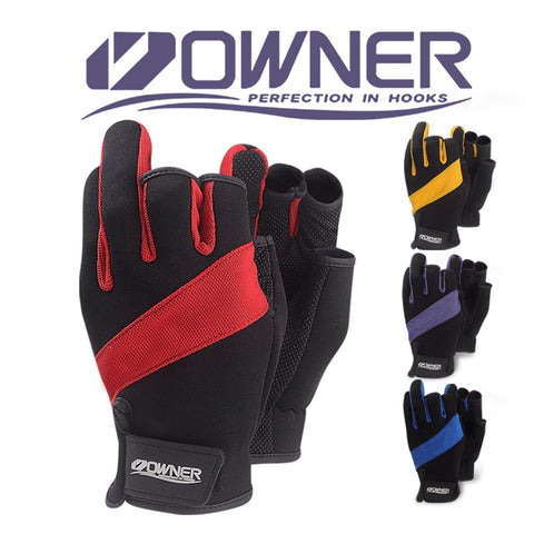 Owner Anti-slip Fishing Gloves - The Gadget Scene