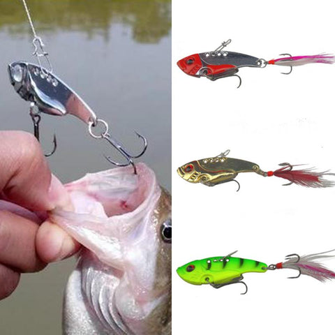 5 Styles Mixed Colors Metal Spoon Bait Lure Kit - The Gadget Scene