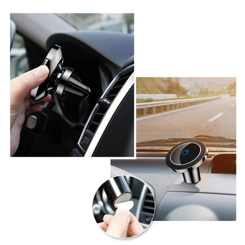Premium Wireless Magnetic Car Charger for iPhone/Android