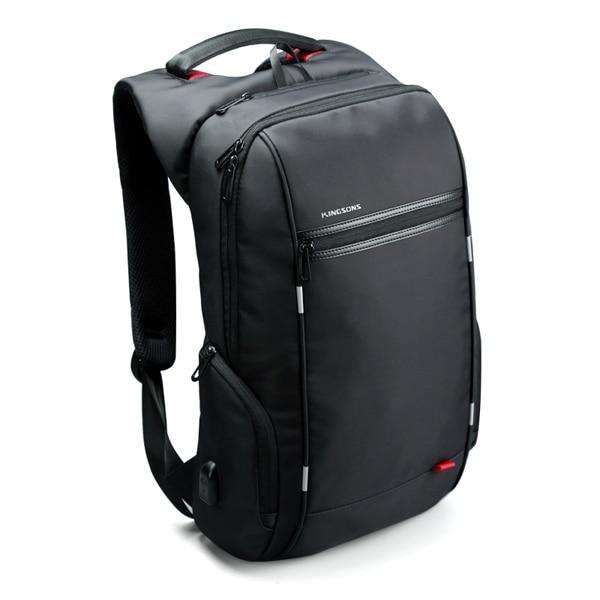 Kingsons  13'' 15'' 17'' Anti-theft Backpack For Laptop W USB Charger - The Gadget Scene