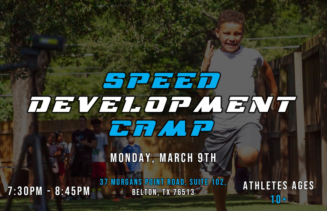 Speed Development Camp - Belton - Early Bird
