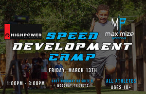 Speed Development Camp - Early Bird
