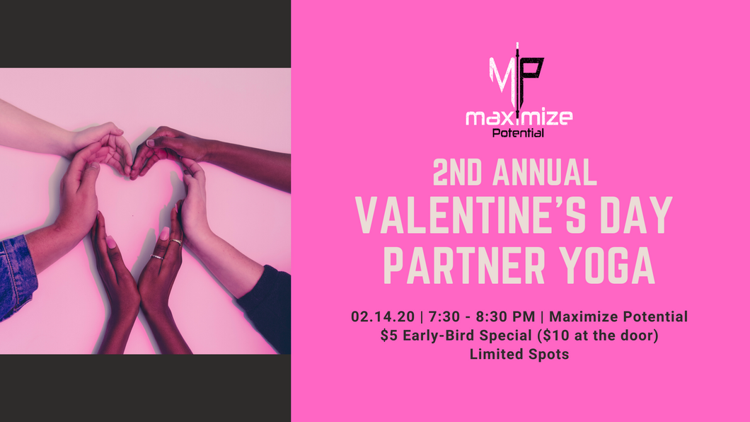 2nd Annual Valentine's Day Partner Yoga - Early Bird