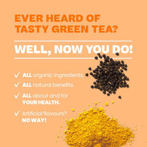 Anytime Teatox: 100% Organic Premium Crafted Green Tea - Detox | Rejuvenate | Hydrate