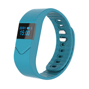 New Waterproof Sleep Monitor Smart Bracelet Step Counter Heart rate monitor Camping Hiking Running pedometer#FC14