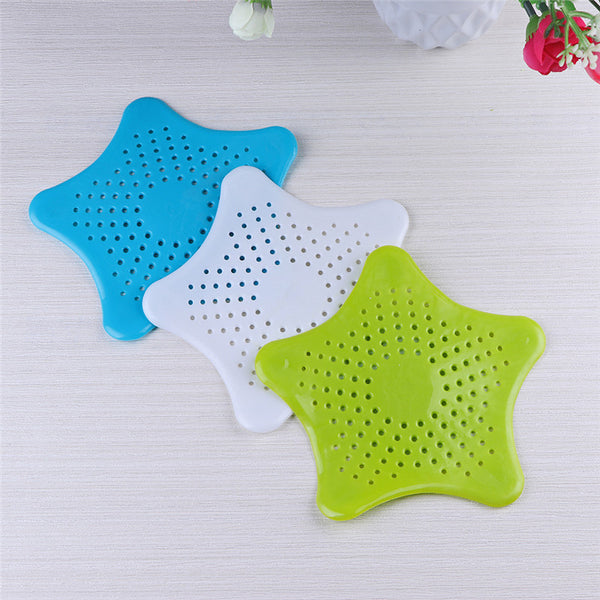 Silicone Star Shaped  Filter, Hair Filter