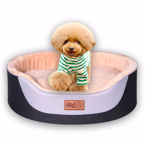 Luxury Oxford Cloth Dog Bed
