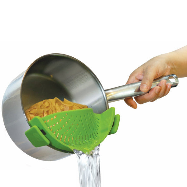 Clip On Silicone Strainer