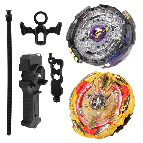 Metal Alloy Beyblade Burst Gyro Fighting Gyroscope Launcher Spinning Top Kids Spinning Toys Set Children Gifts Bayblade