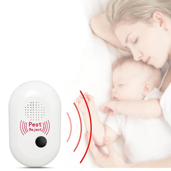 Ultrasonic Electronic Insect Repellent Pest Rejector Mouse Rat Repeller Mosquito Rat Rejector Pest Control Killer US EU Plug