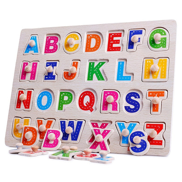 Wooden Educational Puzzle Toy