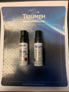 Triumph Paint Touch-Up Kit, New England White - T3120200-NG