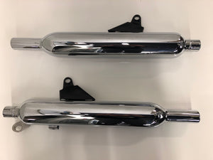 Take-Off Triumph Stock Exhaust Liquid Cooled Bonneville T120 (T2201089/092)