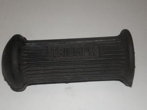 Triumph Driver Rubber With Block Logo - 82-9279