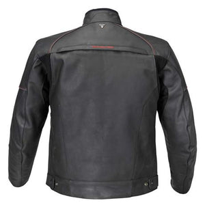Men's Triumph Classic Leather Taloc Jacket, Black - MLPS16114