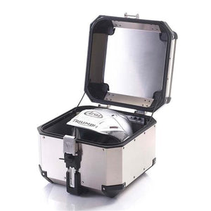 Triumph Tiger 800 and 1200 Expedition Silver Aluminum Top Box - A9500530