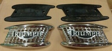 Triumph Heritage Tank Badge Kit - T3900077, T3900076 & T3660121