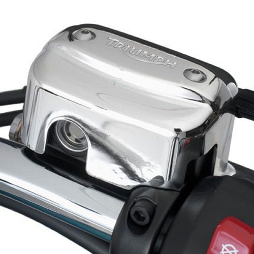 Triumph Cruiser Models Master Cylinder Cover, Chrome - A9738069
