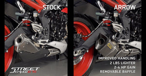 Triumph Street Triple Models Arrow Silencer - A9600563