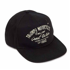 Triumph Black and White Hat - MCAS18328