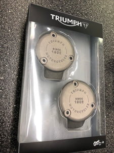 Take-Off Triumph Bonnevilles/Thruxton Stock Throttle Body Covers (T1240345)