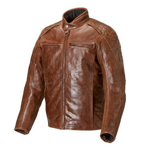 Men's Triumph Leather Barbour Jacket - MLHS17105