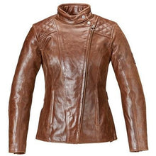 Women's Leather Barbour Jacket - MLLS17106