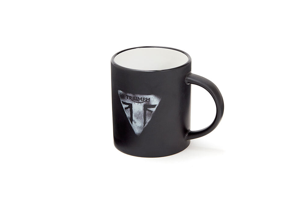 Triumph Black and White Mug - MMUS18329