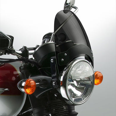 National Cycle Flyscreen, Black Dark Tint fits Triumph Bonneville Bobber - N2544-002