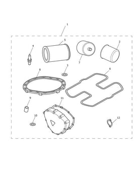 Triumph America and Speedmaster Service Kit - T3990012