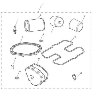 Triumph America and Speedmaster Service Kit - T3990032