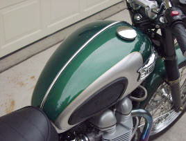 BellaCorse Chrome Tank Trim for Triumph Modern Classics - BCC-005