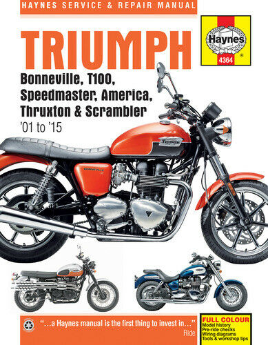 Haynes Manual for Triumph Modern Classics '01-'12 - 2700635