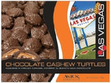 Astor: Box 6.3oz Chocolate Cashew Turtles