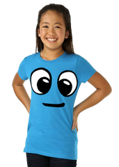 T Shirt: Kids iguy Face