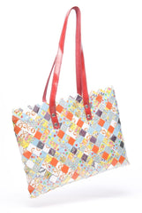 Candy Wrapper Tote: DOTS