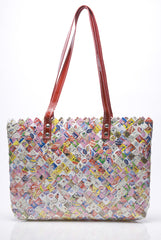 Candy Wrapper Tote: Double Bubble