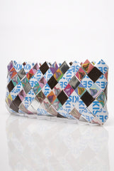 Candy Wrapper Clutch: Fullsize Kisses