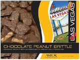 Astor: Box 7oz Chocolate Peanut Brittle