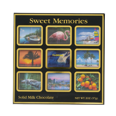 Astor: 9 piece Sweet Memories LV Solid Milk Chocolate