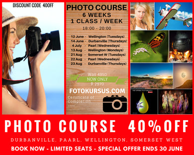 Foto Kursus - Photo Course, Centurion